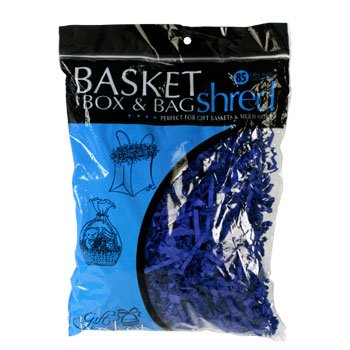 Gift Basket Bag and Box Shred 2 Oz Bag Blue