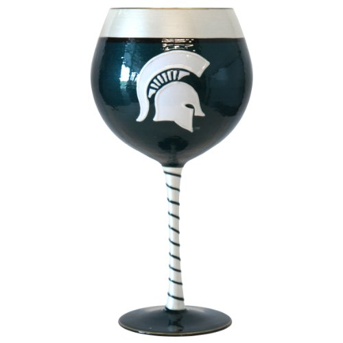 NCAA Michigan State Spartans 33-Ounce Artisan Wine Glass