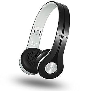 iDeaUSA Bluetoothヘッドホン ワイヤレスヘッドホン 小型ヘッドホン/高音質/折り畳み式/有線無線/ハンズフリー通話可能