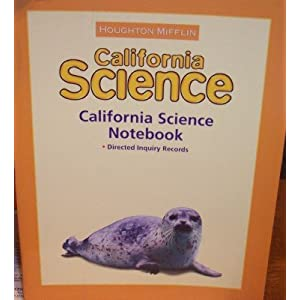 Houghton Mifflin Science California: Worktexts Level 4 (Hm Science 2006) HOUGHTON MIFFLIN