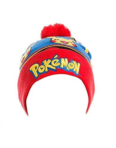Logo-Meroncourt-unisex-con-Pikachu-Beanie-sombrero-multicolor-un-tamao