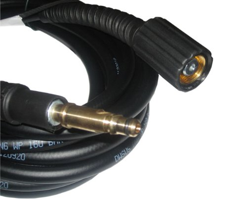 15m-Hochdruckschlauch-fr-KRCHER-Hochdruckreiniger-160-bar-65-M22-IG-und-Quick-Connect-Anschluss