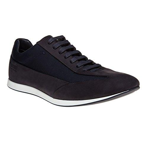 Boss Fulltime Low Herren Sneaker Blau thumbnail