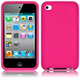 APPLE IPOD TOUCH 4TH GENERATION SOFT SILICONE SKIN CASE - HOT PINKby TERRAPIN