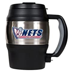 New Jersey Nets Mini Stainless Steel Coffee Jug by Great American Products