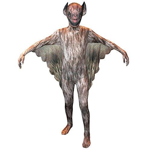 Vampire Bat - Animal Planet Morphsuit- Costume bambini - Piccolo - 6-8 Anni (102-118cm)