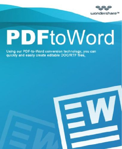 Wondershare Pdf To Word [Download]