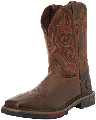 Amazon.com: Justin Original Work Boots Men's Hybred Work Boot: Shoes