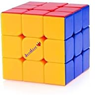 Sunshine HIGH STABILTY AND FAULT RESISTANCE Speed Cube: 3X3X3 Speed Cube - STICKERLESS