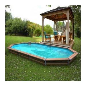 Avis piscine hors sol bois water clip 6 8 x 3 7 x 1 47m for Piscine x water