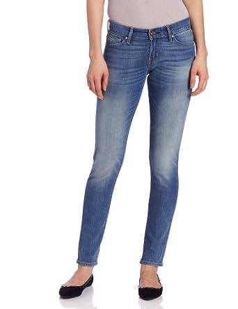 Levi's Juniors Modern Demi Curve Skinny Jean, Bleach,24 x32