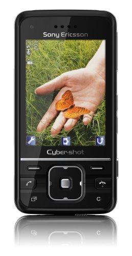 Sony Ericsson C903 Handy (5 MP, GPS, TV-Out, UKW Radio) lacquer black