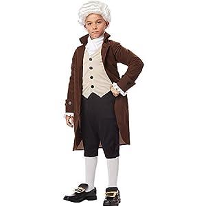 California Costumes Colonial Man/Benjamin Franklin Child Costume, Large