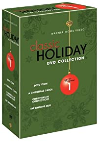 Warner Brothers Classic Holiday Collection Vol 1 Boys Town A Christmas Carol 1938 Christmas In Connecticut The Singing Nun from Warner Home Video