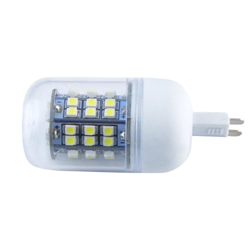 Jombo 10 Pieces Of Energy Saving 280Lm Warm White Corn Light Lamp Bulb G9 48 Smd 3528 Led 6000-6500K Equivalent Halogen 40W With Transparent Cover