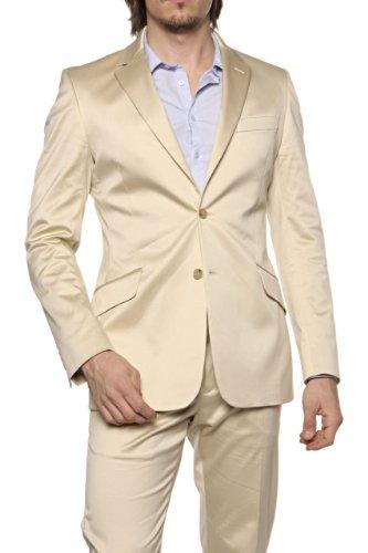 Just Cavalli by Roberto Cavalli Suit ROBERTO, Color: Beige, Size: 56