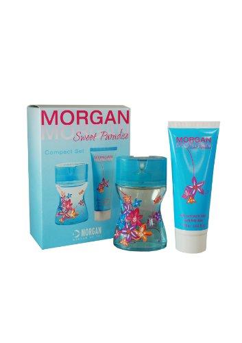 Morgan, Sweet Paradise, Set con Eau de Toilette spray (60 ml) e crema corpo (100 ml)