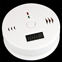 Digital Carbon Monoxide CO Gas Warning Detection Alarm Detector from Lgsupply
