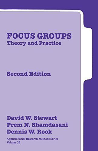 Focus Groups: Theory and Practice: 20 (Applied Social Research Methods)