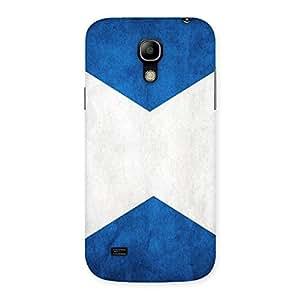 Premium X Fin Blue Back Case Cover for Galaxy S4 Mini