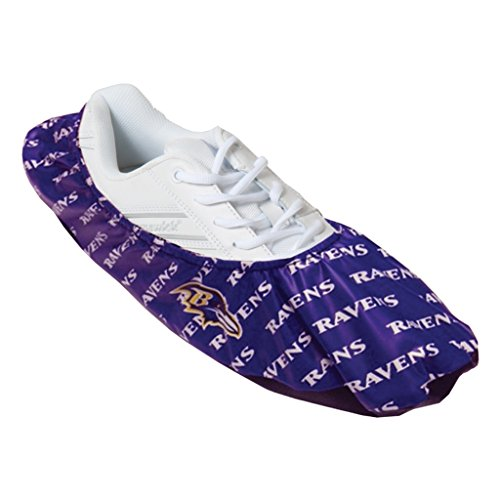 nfl bowling shoe covers baltimore ravens one size fits