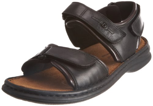 Josef Seibel Men's Rafe Black Combi Sandal 10104 12 UK