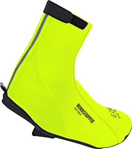 Gore Bike Wear Road SO Thermo Overshoes - Neon Yellow, Small