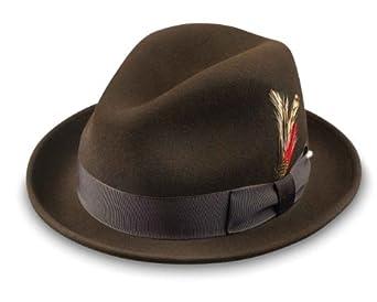 Broner Melodrama Blues Litefelt Hat, Brown, Small