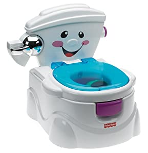 Mattel P4326-0 - Fisher-Price Baby Gear Meine erste Toilette