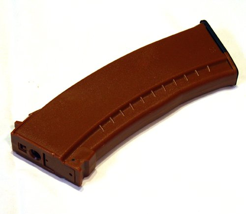 Airsoft AK Magazine High Capacity Dboys Bi-12 Brown Bakelite