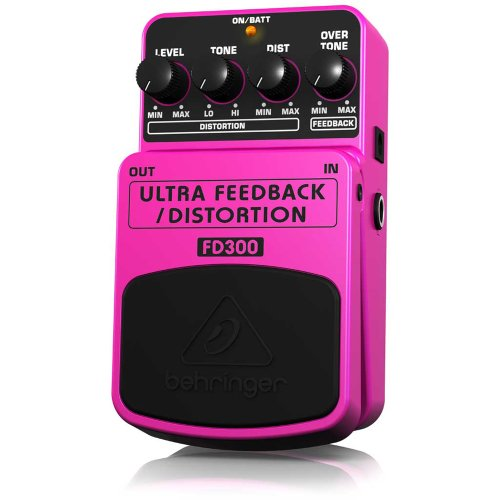 Behringer Fd300 Ultra Ultimate Feedback/Distortion Effects Pedal