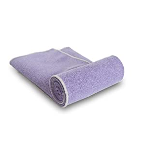 "YogaRat 100% Microfiber Yoga Towels: Mat Towels (24"" x 72"") and Hand Towels (15"" x 24"")"