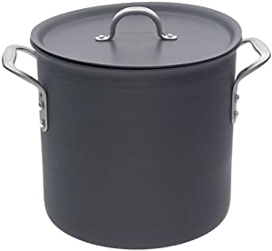 Calphalon Commercial Hard-Anodized 16-Quart Stock Pot with Lid