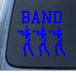 BAND - Vinyl Car Decal Sticker #1319 | Vinyl Color: Blue