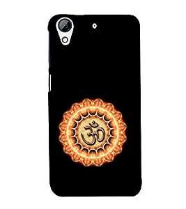 EPICCASE Om symbol Mobile Back Case Cover For HTC Desire 626 (Designer Case)