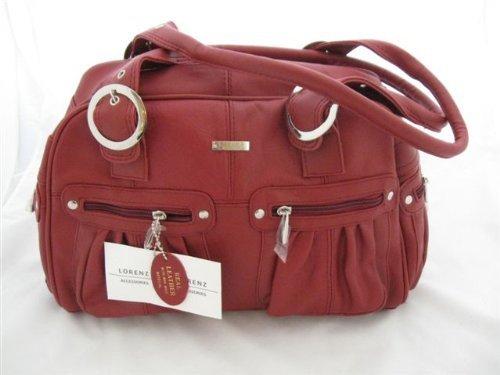 red leather lorenz shoulder / bag ladies womens