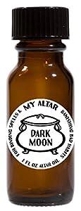 Dark Moon for Binding Spells & Banishing Bad Habits 1 oz Altar Oil