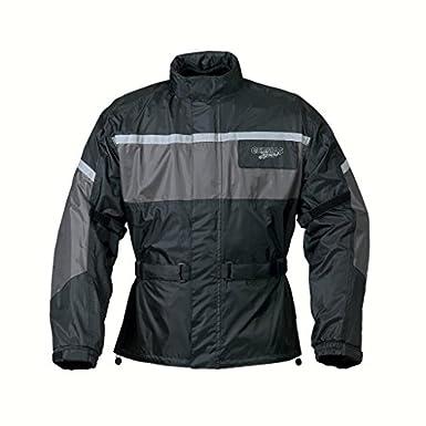 Leeds veste imperméable-homme-gris/noir-xXXXL