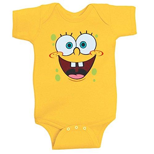 [Spongebob Infant Onesie Romper-24 months] (Spongebob Dress)