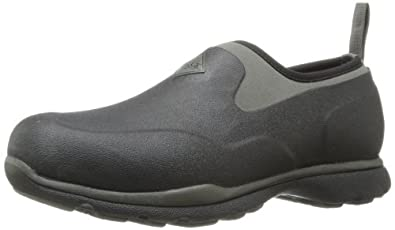 MuckBoots Men's Excursion Pro Low Shoe,Black/Gunmetal,7 M US