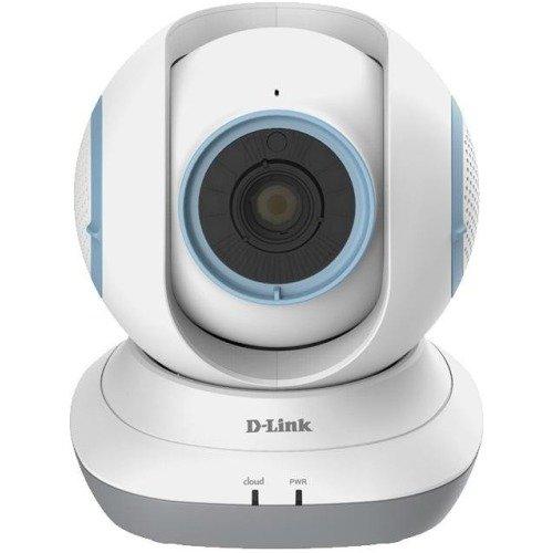 D-Link DCS-855L/P EyeOn Pet Cam Videocamera di Sorveglianza HD Motorizzata per Monitorare gli Animali, Bianco