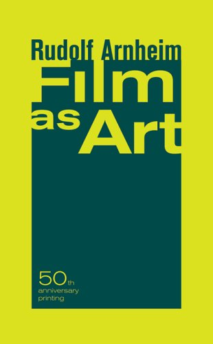 Film as Art, Rudolf Arnheim