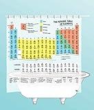 Periodic Table Shower Curtain - EVA vinyl