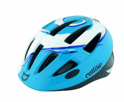 Catlike Radikal Childrens Cycling Helmet - S (47-53cm), Blue/White
