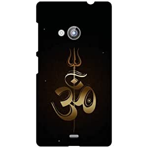 Printland Om Namah Phone Cover For Nokia Lumia 535