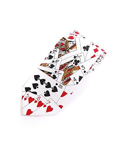 parquet-poker-playing-cards-blackjack-casino-necktie-white-one-size-neck-tie