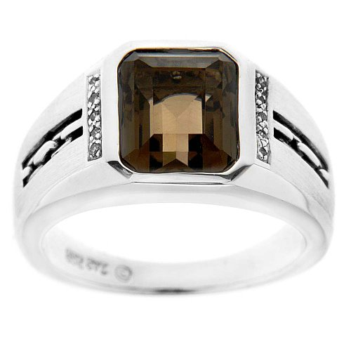 Men&#39;s Octagon Ring