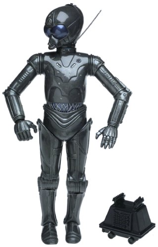 Star Wars Power of the Jedi Death Star Droid, with Mouse Droid