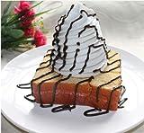 厚切り ハニー トースト 生クリーム チョコレートソース添え 食品サンプル 食品模型 ディスプレイに