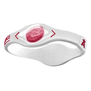 Power Balance MLB Silicone Wristband - Genuine - Los Angeles Angels by Power Balance
